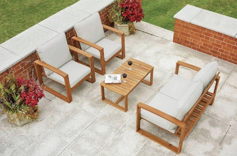 Argos garden furniture: Greenhurst Rimini Garden Sofa Set