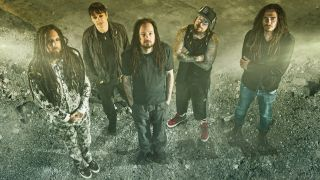 A promotional picture of Korn