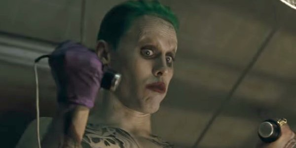 jared leto's joker in Justice League
