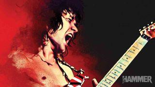 Eddie Van Halen Metal Hammer cover