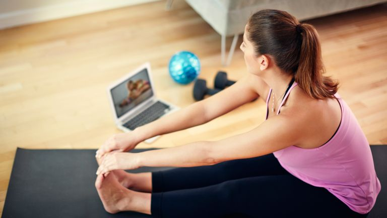 YouTube workouts for home fitness