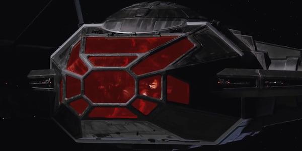 Kylo Ren TIE Fighter cockpit