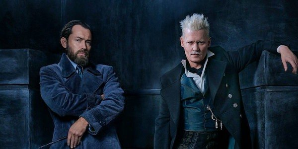 Dumbledore and Gindelwald