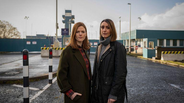 Vigil BBC series starring Suranne Jones and Rose Leslie