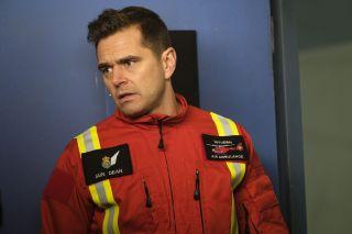 Michael Stevenson as Casualty paramedic Iain Dean