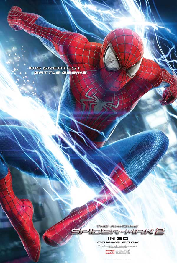 Amazing Spider-Man 2 Character Poster Spider-Man