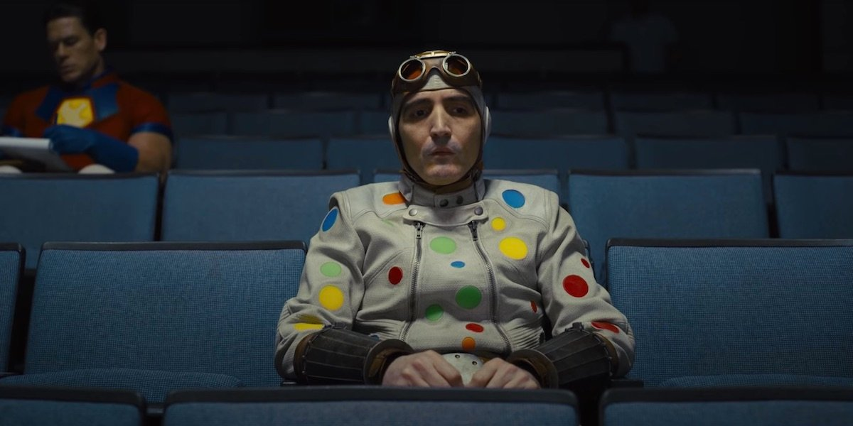 David Dastmalchian as the Polka Dot Man