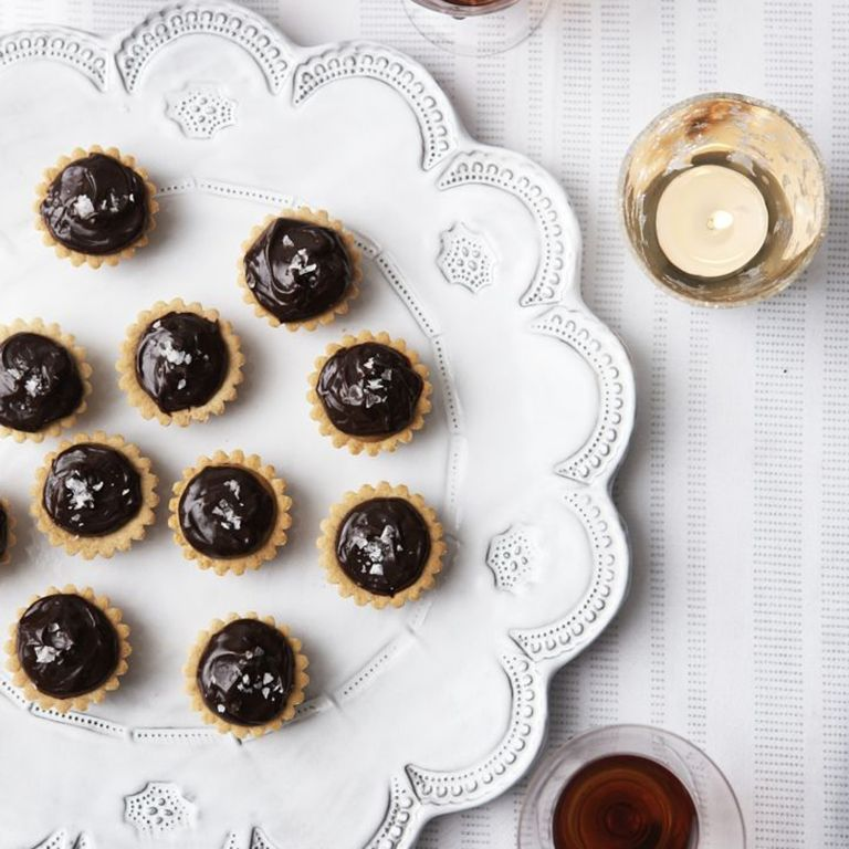 Chocolate and Salted Caramel Canapes recipe-Chocolate recipes-recipe ideas-woman and home