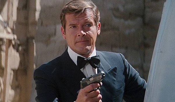 Roger Moore as James Bond in The Spy Who Loved Me