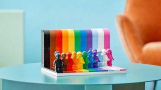 LGBTQIA+ Lego set
