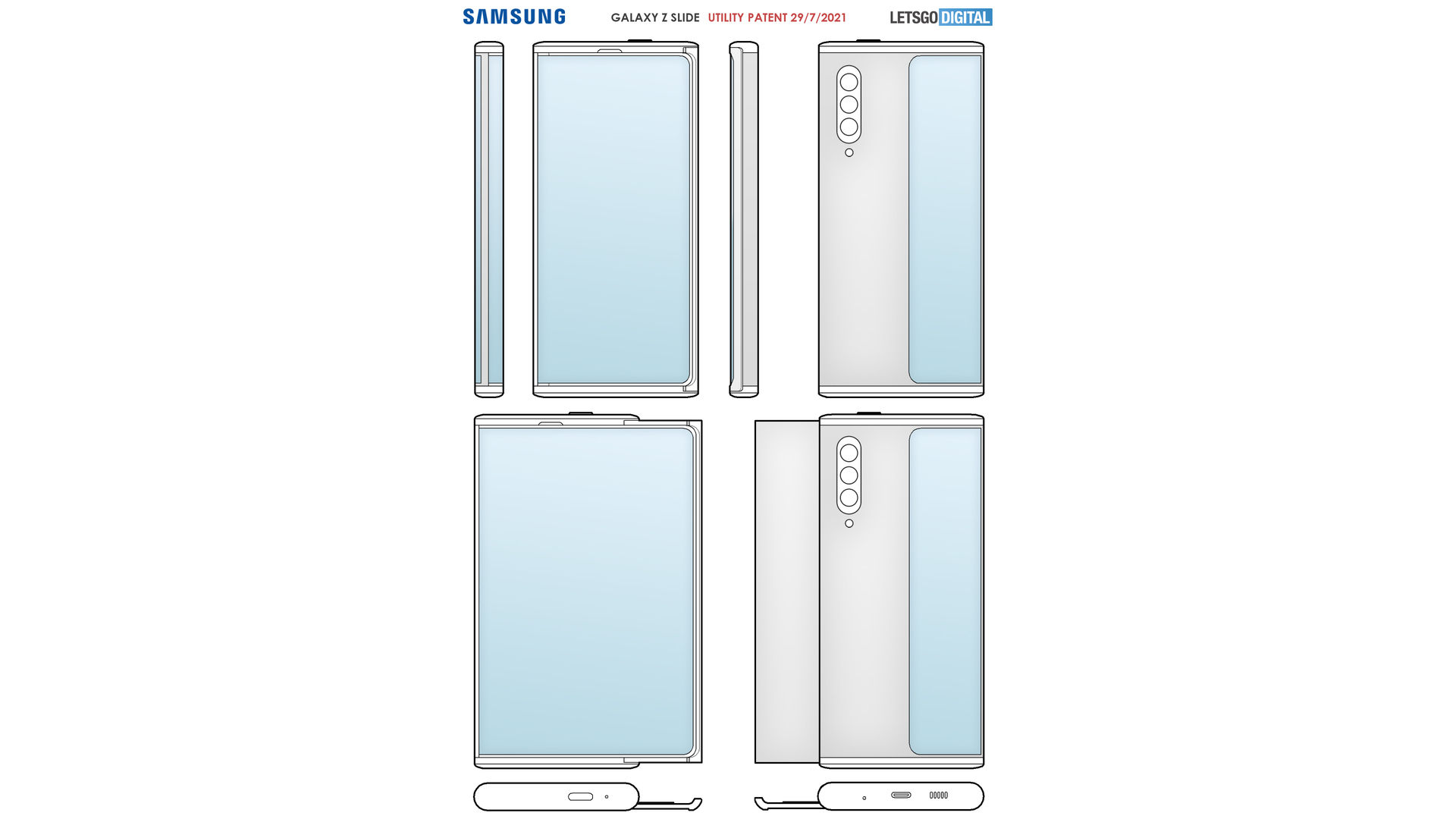 Samsung Rollable Phone pantent
