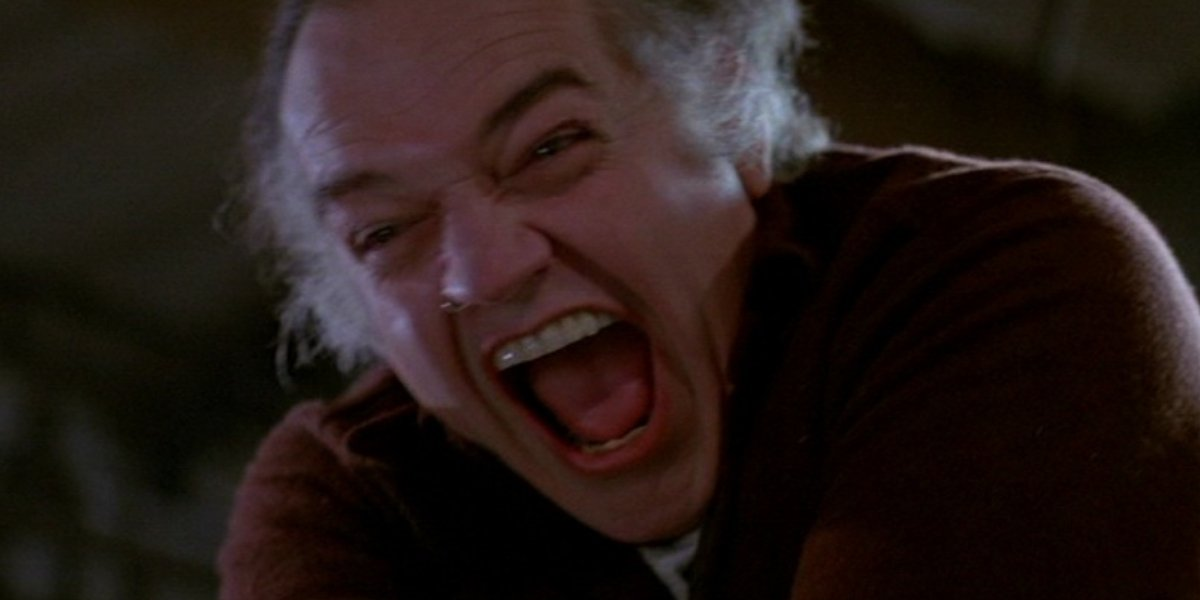 Richard Dysart in The Thing
