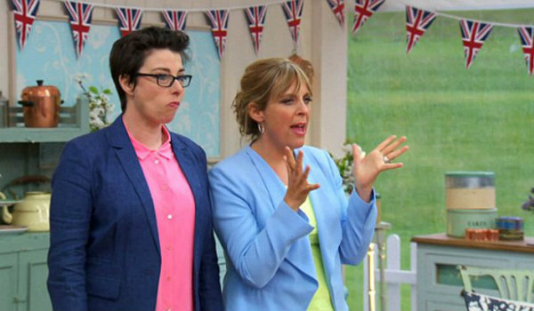 Sue and Mel The Great British Bake Off