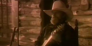Charlie Daniels Simple Man music video screenshot.