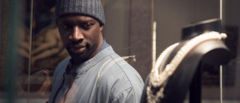 "Omar Sy as Assane Diop in ""Lupin"" on Netflix."