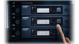 Shure Shipping GLX-D Advanced Digital Wireless Suite