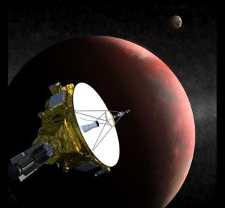 New Horizons Probe in the Pluto System