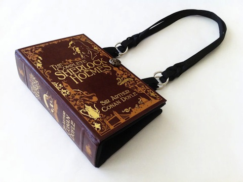 Purses Made From Popular Book Covers Make