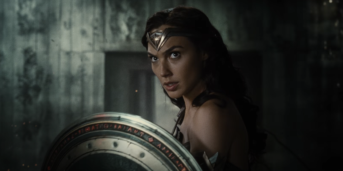 Wonder Woman in Justice League
