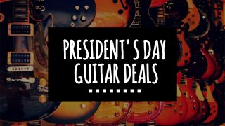 Up to 60% savings on guitar gear in the Sweetwater, ProAudioStar and Musician's Friend and Guitar Center President's Day sales