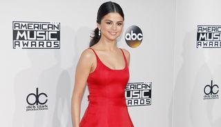 Selena Gomez, at the 2016 American Music Awards in Los Angeles, Nov. 20 2016.