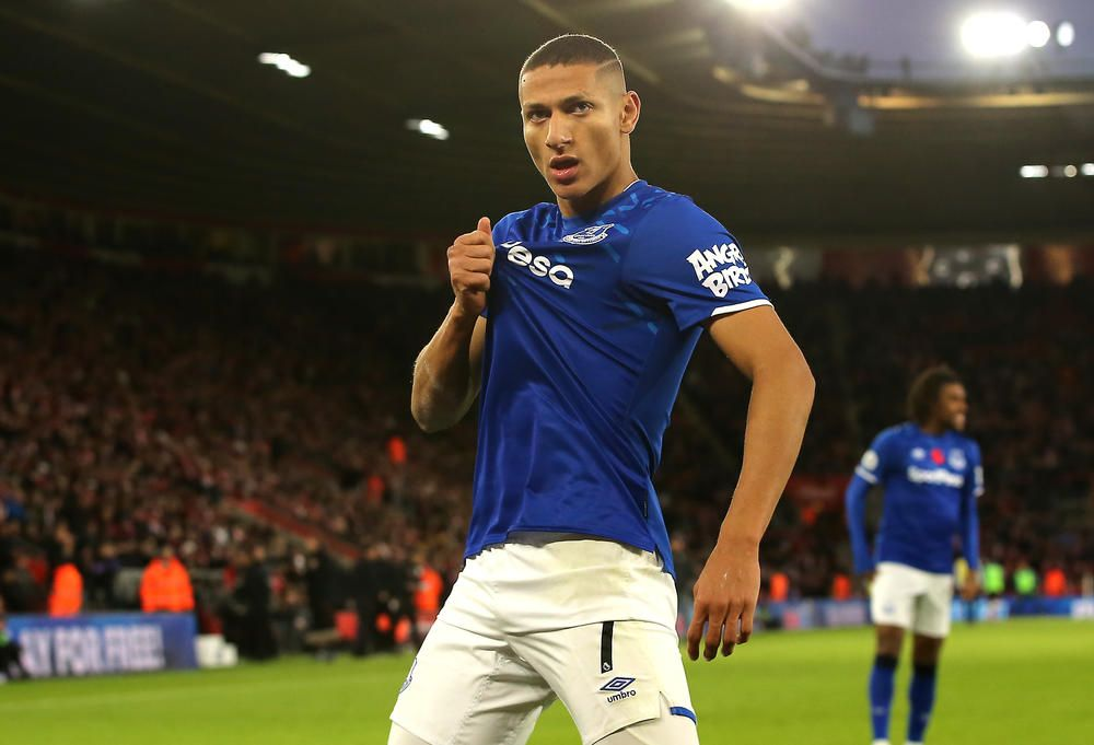 Richarlison Signs New Everton Deal Fourfourtwo