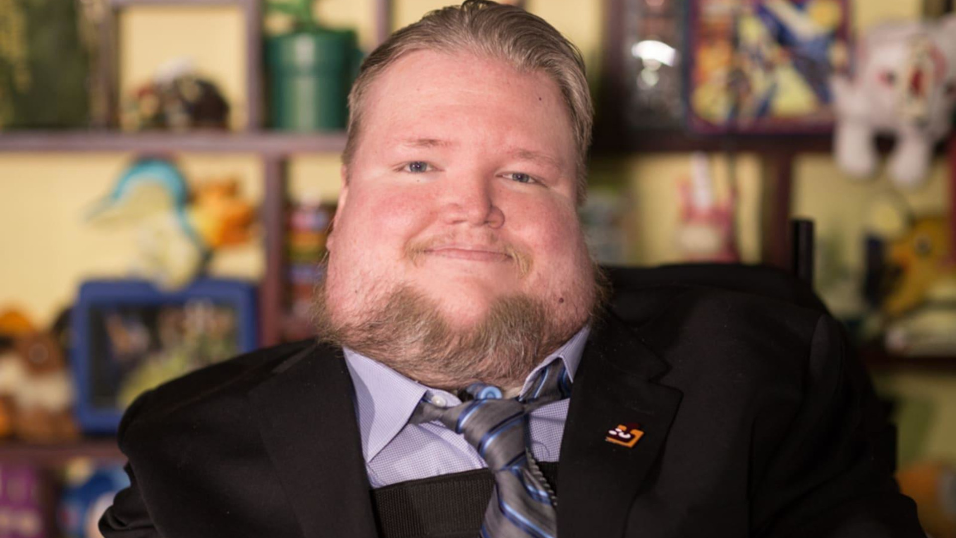 Front facing photograph of Steve Spohn, COO of AbleGamers