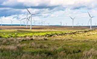 Johnson makes wind power pledge