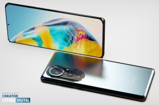 huawei p50 concept render