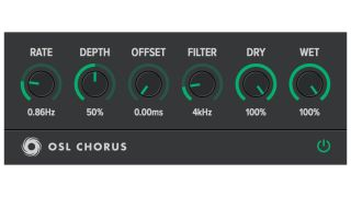 This plugin emulation of the Roland Juno-60's chorus effect