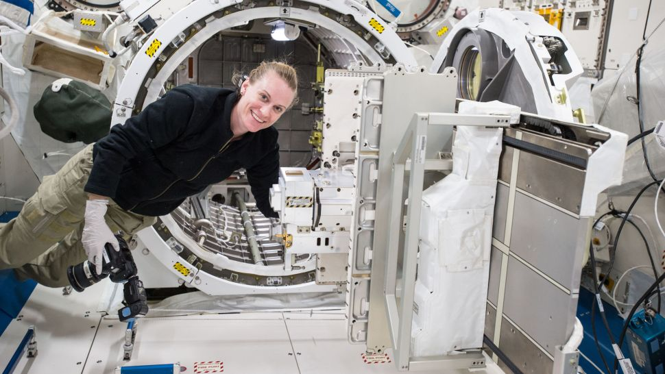 The International Space Station is now home to the world's 1st commercial airlock