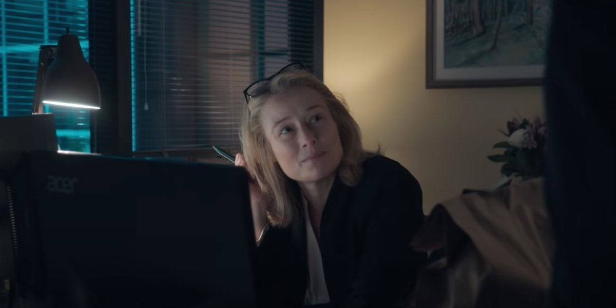 Jennifer Ehle in The Comey Rule