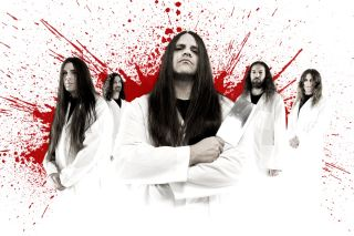 Death metal band Cannibal Corpse.