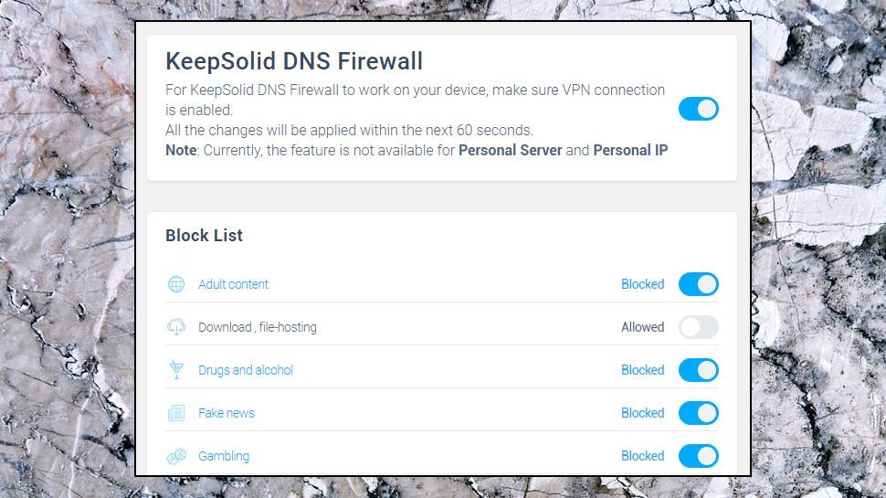 VPN Unlimited DNS Firewall
