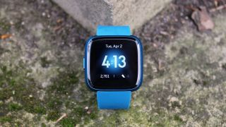 The Versa Lite has just one button but comes in a wider range of colors. Image credit: TechRadar