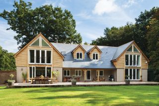 Small bungalow transformed with planning permission