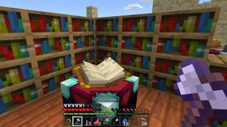 Minecraft enchant axes