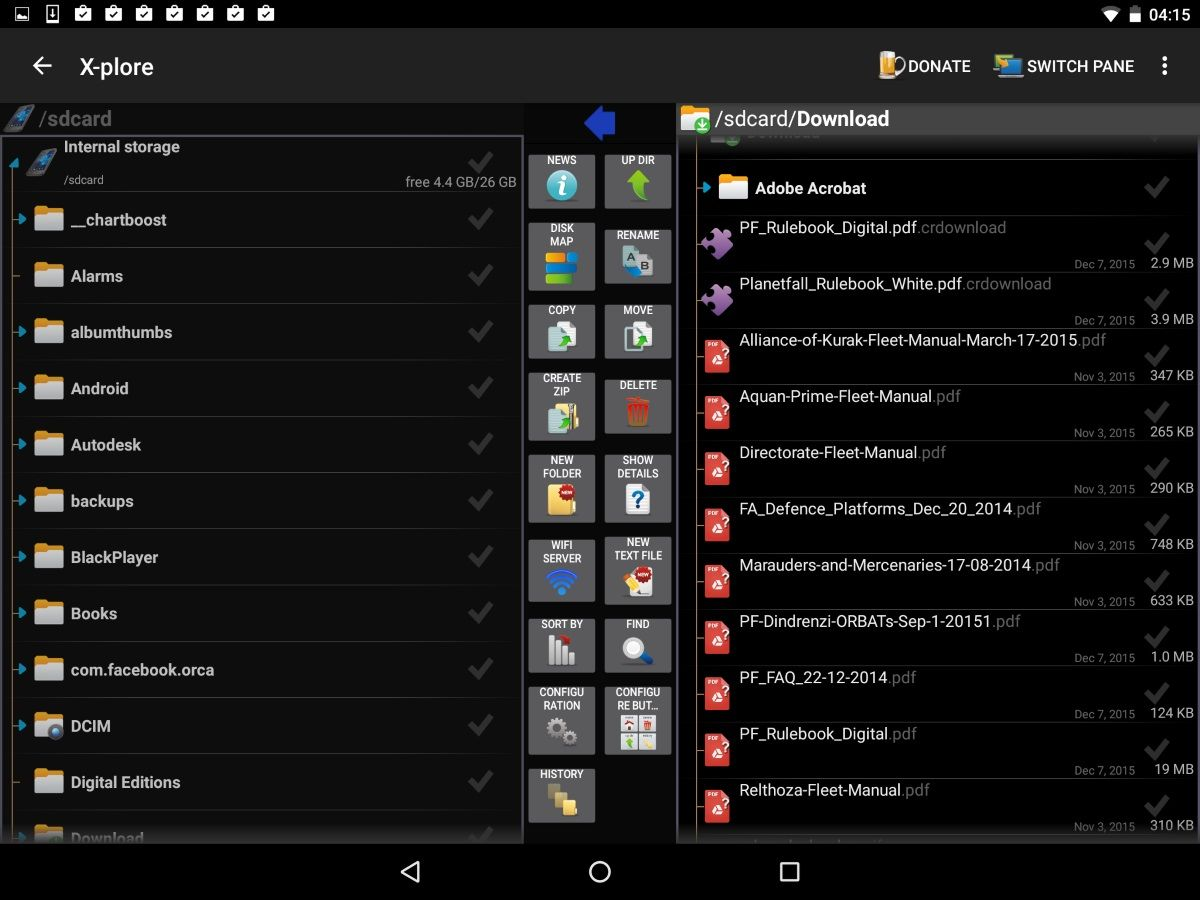 Best Android File Managers 2019 - Browse, Copy, Delete and