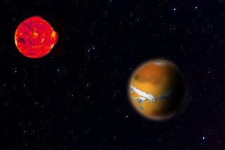 Trappist-1d planet art