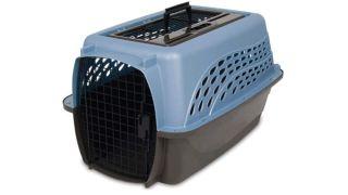 Petmate two door top load cat carrier