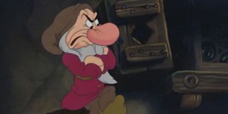 Grumpy from Snow White