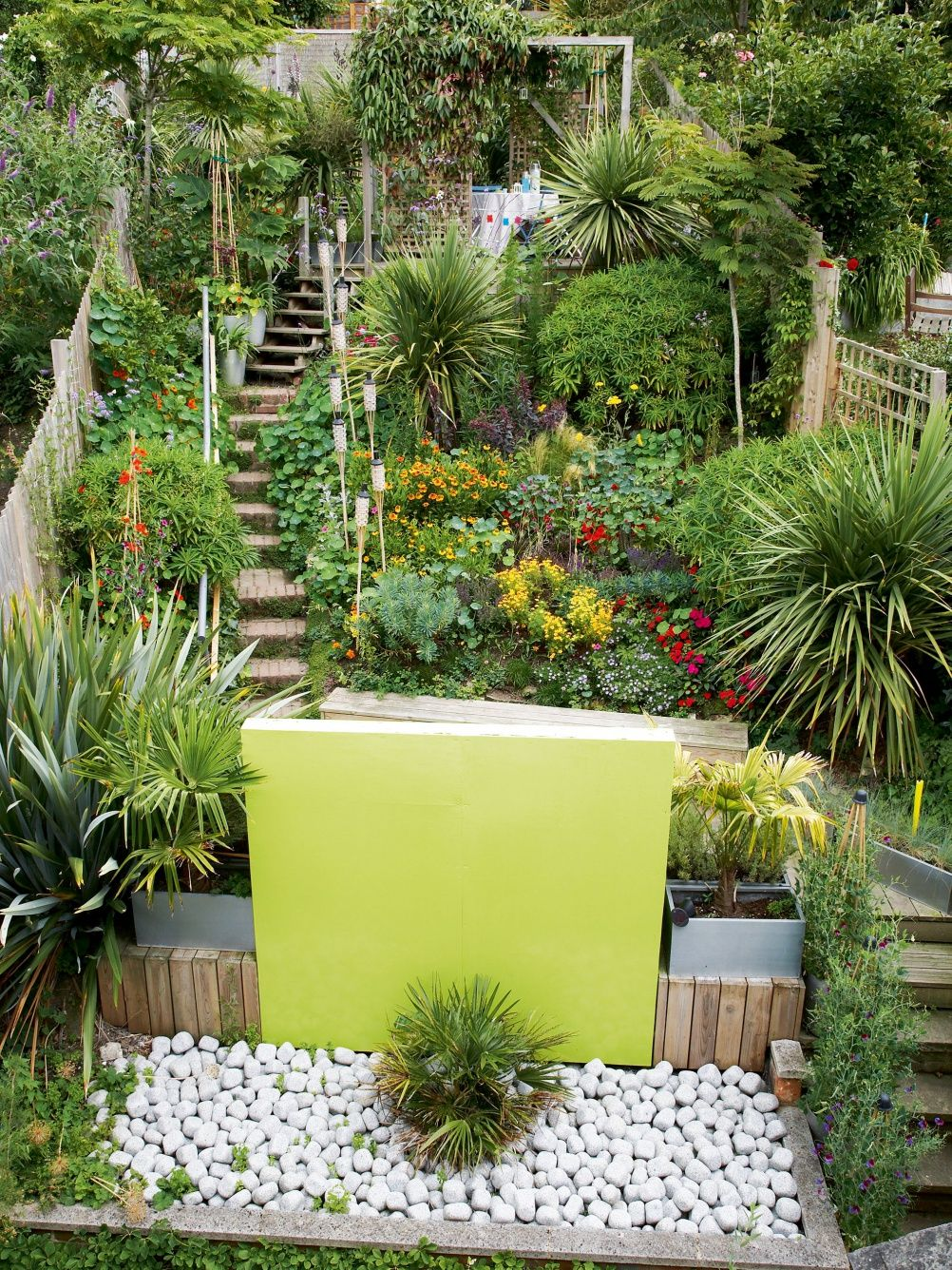 Sloping Gardens Design Ideas And Landscaping Tips Real Homes