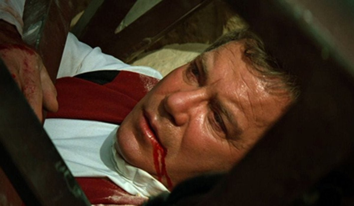 Star Trek Generations Captain Kirk lays dying