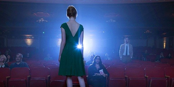 La La Land movie theater scene