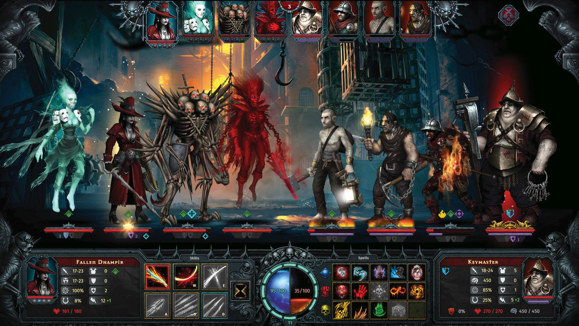 correr zapatos gran ajuste venta Iratus: Lord of the Dead is like Darkest Dungeon, except you ...