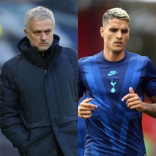 Jose Mourinho would not explain why Erik Lamela will miss Tuesday's game against Brentford