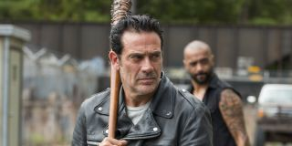 negan holding lucille on the walking dead
