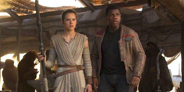 Rey and Finn in Star Wars Episode IX