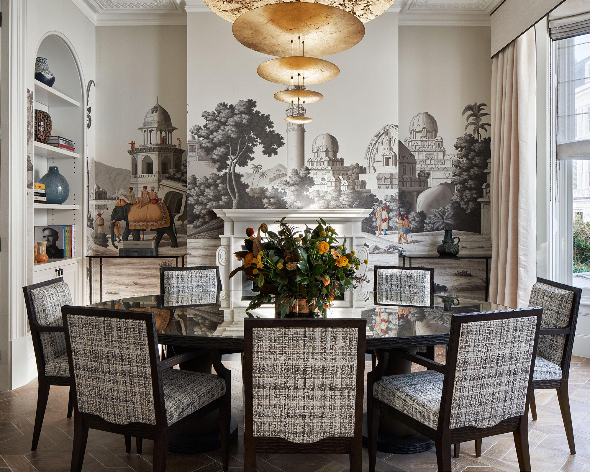 Wallpaper Ideas Inspiration For, Dining Room Wallcovering Ideas