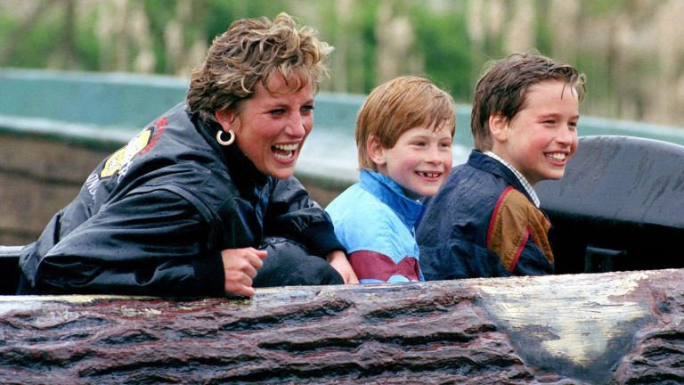 Princess Diana Prince Harry Prince William